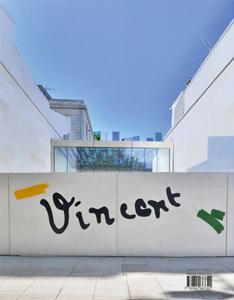 Lavier a peint la signature d Van Gogh sur le mus de la fondation à Arles
