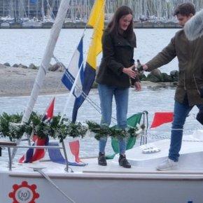 Bootsübergabe in Neustadt