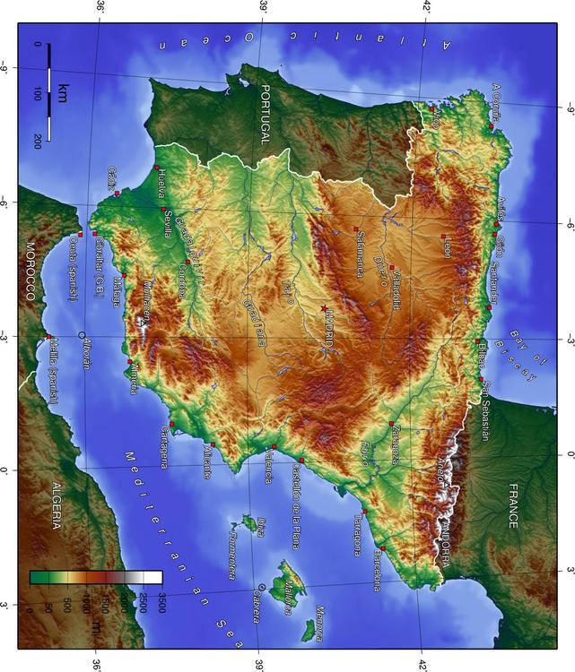 Bild Spanische Topographie Abb 17047