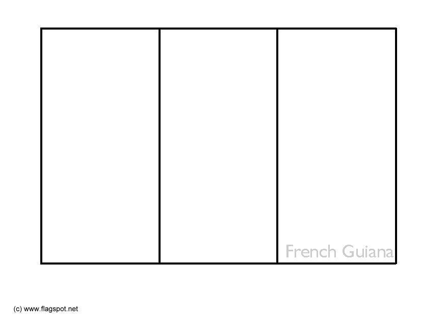 Malvorlage Franzsisch Guayana Ausmalbild 6353