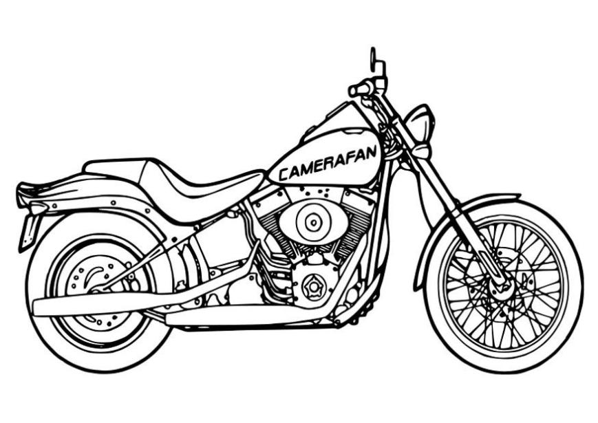 malvorlagen motorrad yamaha  tippsvorlage