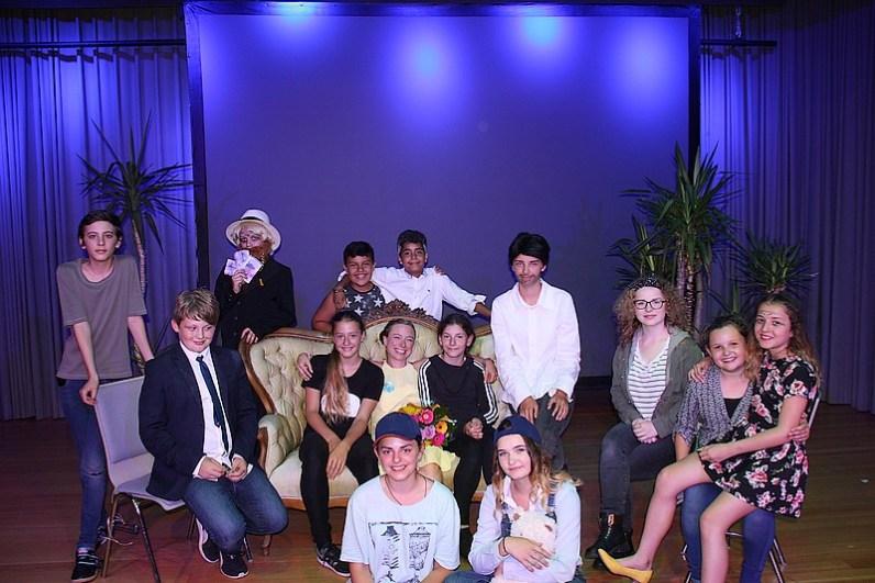 Gruppenbild Theatergruppe