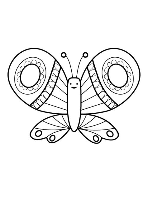 Malvorlagen Tiere Schmetterling Die Beste Idee Zum