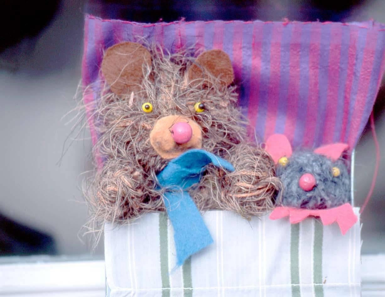 Basteln Mit Kindern Kostenlose Bastelvorlage Tiere Maus