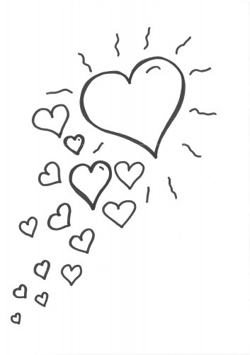 Kostenlose Malvorlage Herzen Malvorlage Herzen Zum Ausmalen