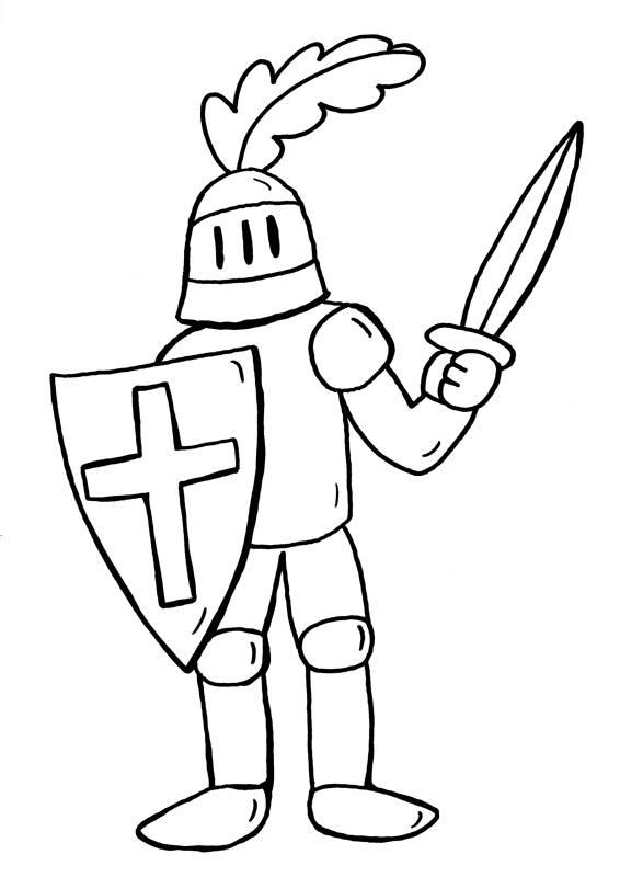 Kostenlose Ausmalbilder Und Malvorlagen Ritter Und