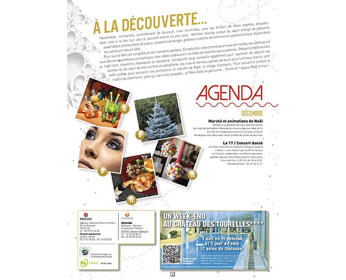 portfolio à Caen et Vire, article A la découverte...