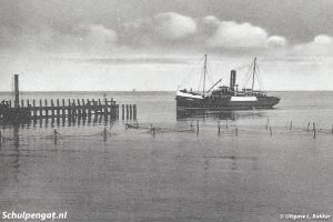 Dageraad (1908) – Aankomst Oudeschild