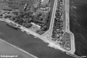 Den Helder – Luchtfoto van na 1922