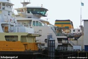 Drie TESO-schepen samen
