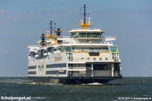 Veerboot Texel – Aankomst in Den Helder