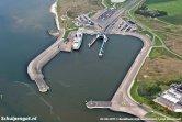 De veerhaven van 't Horntje werd begin jaren 60 aangelegd en als eerste gebruikt door de Koningin Wilhelmina, De Dageraad (1955), Dokter Wagemaker (1934) en de Voorwaarts.