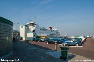 Parkeerterrein Den Helder veerboot