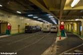 Het hoofdrijdek van de Schulpengat meet ruim 1300 m2, waarvan ongeveer 900 m2 geschikt is voor vrachtwagens.
