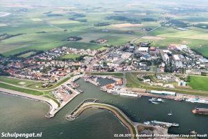 Texel – Oudeschild luchtfoto (2011)
