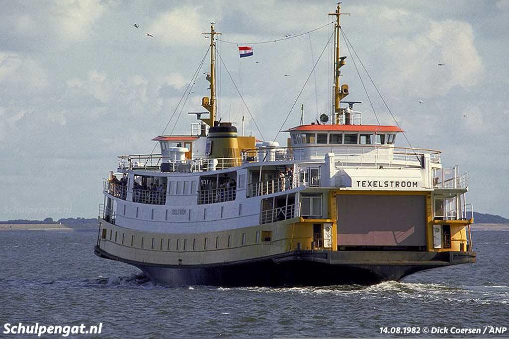Samen met zusterschip Marsdiep heeft de Texelstroom jarenlang de bootdienst naar Texel onderhouden