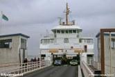 De Molengat ligt in de fuik van Den Helder op deze ietwat grijze januaridag begin 2003.