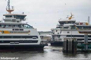 XL-dubbeldekkers van bootdienst TESO