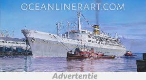 Advertentie – Ocean Liner Art