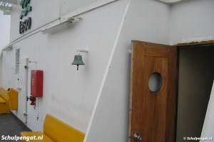 Passagiersdek van de veerboot Molengat