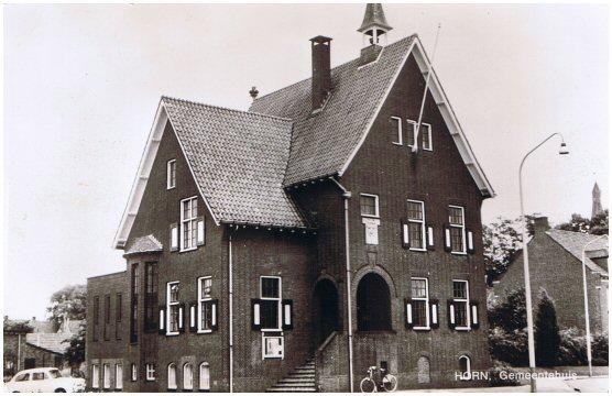 Afbeeldingsresultaat voor oud gemeentehuis horn