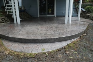 Patio with Heavy Stone Texture