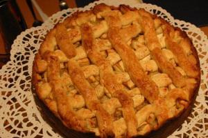 Apfelkuchen, schwedische Art