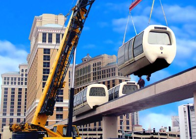 SDI Dismantles, Stores, Upgrades and Re-Installs the Bellagio People Mover System in Las Vegas