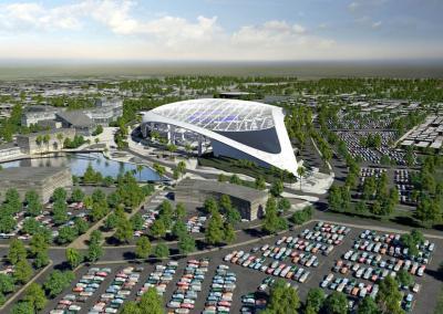 The Los Angeles NFL Stadium