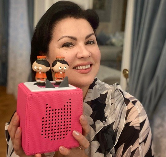 Anna Netrebko emfiehlt Klassik für die Kleinsten