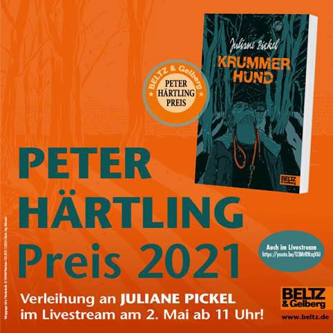 Peter-Härtling-Preis 2021 | © Beltz & Gelberg