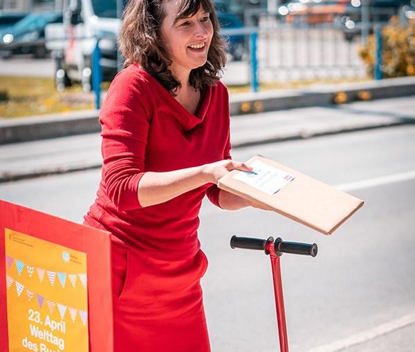 Von der Liebe zu den Büchern: Wie die Buchhandlung Plautz den Welttag des Buches beging