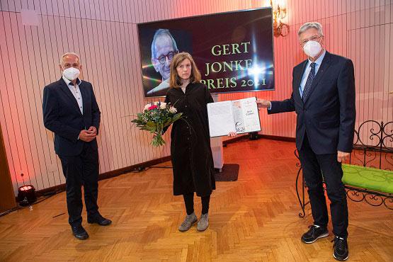Gerd-Jonke-Preis 2021 | © LPD Kärnten/Bauer