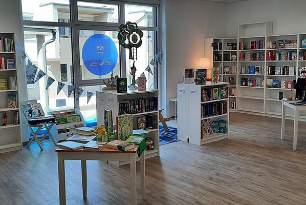 Innenansicht Buchhandlung Leuchtturm | © Buchhandlung Leuchtturm
