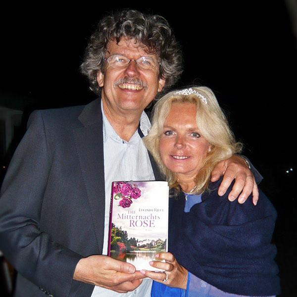 Georg Reuchlein und Lucinda Riley 2013 | © Goldmann Verlag
