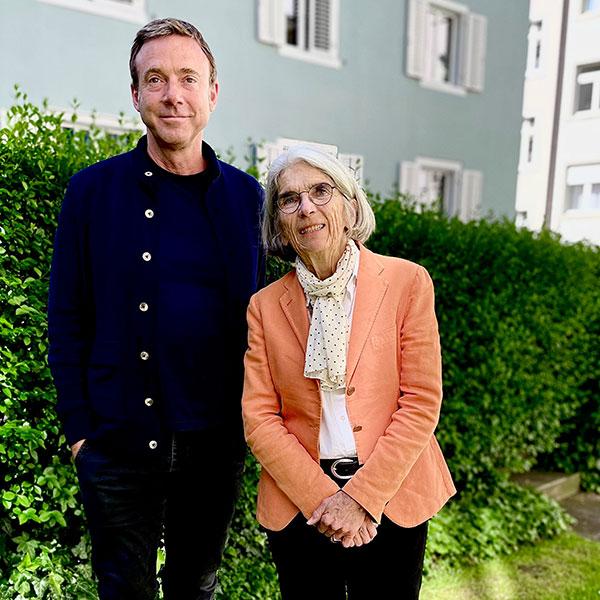 Philipp Keel & Donna Leon | © Diogenes Verlag
