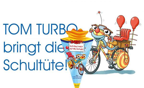 Header Tom Turbo Schultüte | © G&G