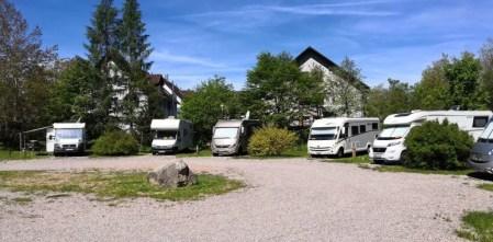 Wohnmobil-Stellplatz in Unterkirnach