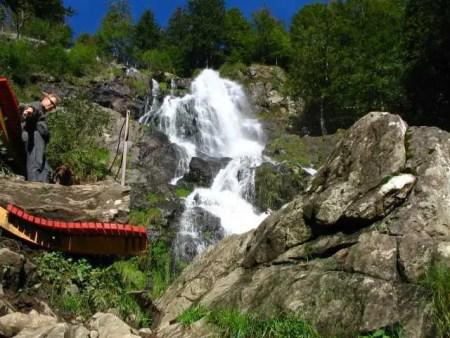 Todtnauer Wasserfall mit Relaxliege