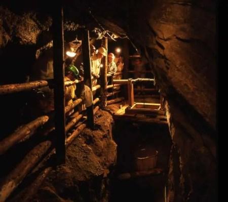 Wenceslas mine for visitors