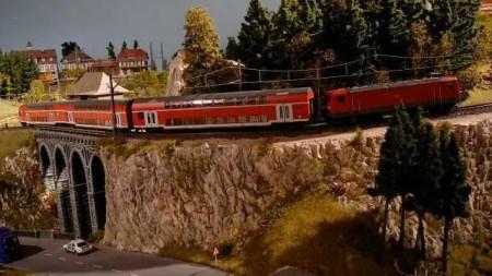 نموذج مركز سكة حديد Schluchsee