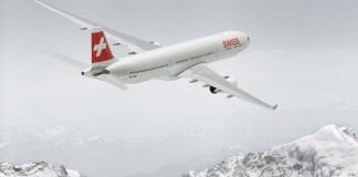 Flugzeug nach Schweden