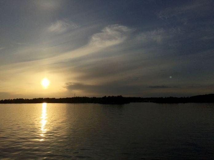 Auch Seen werden auf dem Göta Kanal durchquert. (Foto Andre Ullius)