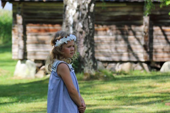 Schon die Jüngsten schauen dem Treiben andächtig zu. (Bild Andrea Ullius)