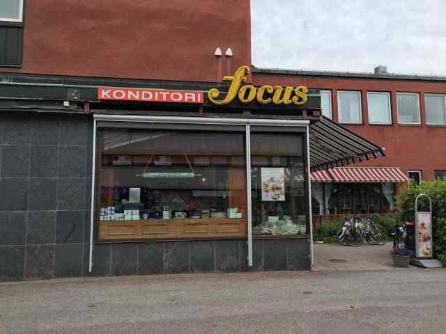 Ein Tempel für Süssigkeiten: Die Konditori Foucs in Falun. (Foto Andrea Ullius)