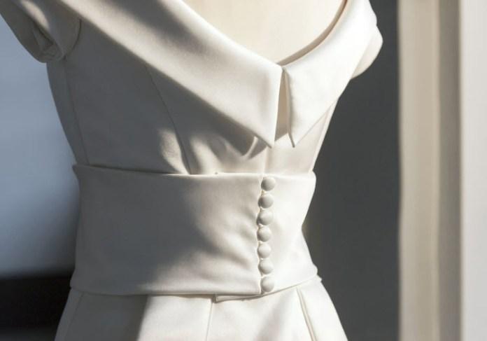 Das Brautkleid von Kronprinzessin Victoria (Foto: kungshuset.se)
