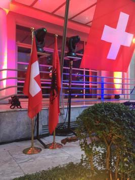 Flaggen im Jubiläumsjahr