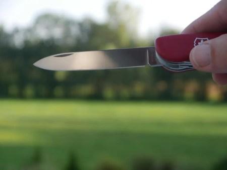 victorinox taschenmesser pflege