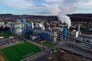 Im Werk in Frauenfeld wurden in der letzten Kampagne erheblich weniger Rüben verarbeitet. Quelle: Schweizer Zucker AG