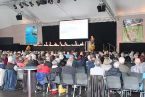 380 Aktionäre verfolgten die Generalversammlung der Rigi Bahnen AG. Bild: zvg